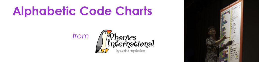 Alphabetic Code Charts  Home Page